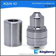 Wholesale china e cigarette 1:1 clone aqua v2 atozmier Clone / Aqua v2 RBA in stock for sale now