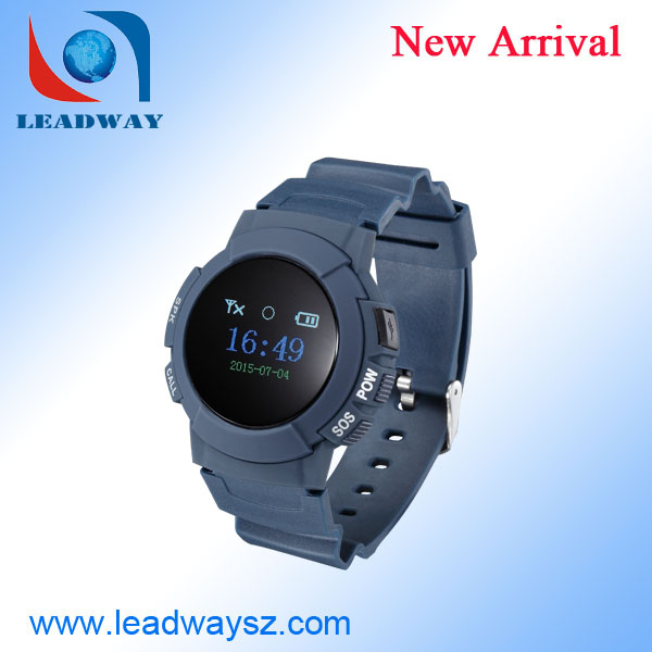 2015 sell gps tracker bracelet with phone sms