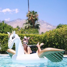 hot sale swim floats for adults water float inflatable swan