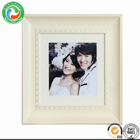 High quality latest poly resin mirror frame