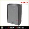 High Power 15'' Full Range Plastic molded Speaker Cabinet with Mp3 PQH-15