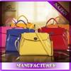 Wholesale women 2015 fashion handbag high quality cow leather bag
