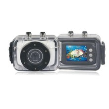 Gift waterproof 720P action digital video camera with Continuous Shot