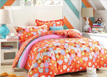 Colorful little flower printed 110 125 gsm 240cm width pigment printed 100% polyester fabric for home textile
