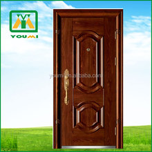 YMF-D908 Most Popular Promotional Cheap Security Steel Door Manufactory