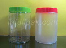 750ml /750gTransparent Plastic PET Cookies storage Jar