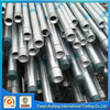 GI construction material galvanized steel pipe threaded and plain head