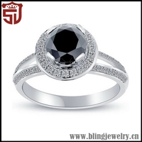 Super Quality Graceful Metal Ball Cluster Ring