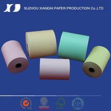 2015 le plus populaire et haute qualité thermique top papier couché 80 mm x 60 mm rouleaux de papier thermique papier thermique