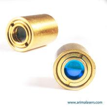 635nm 1mW 3V D10.5mm Red Laser Diode Module, Adjustable Focus Glass Lens Laser Module, Big Clear Aperture Laser Module