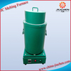 JC Small Automatic Crucible Melting Furnace with 5-15Kg Capacity for Sale