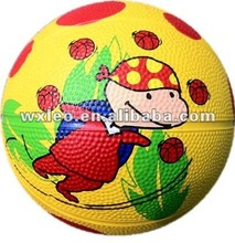 Colorful high quality outdoor games basketballs