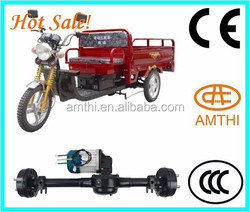 150cc Cargo 3 Wheel Tricycle Motorcycle Motor In India,Differential Electric Rickshaw Motor With Rear Axle,Amthi