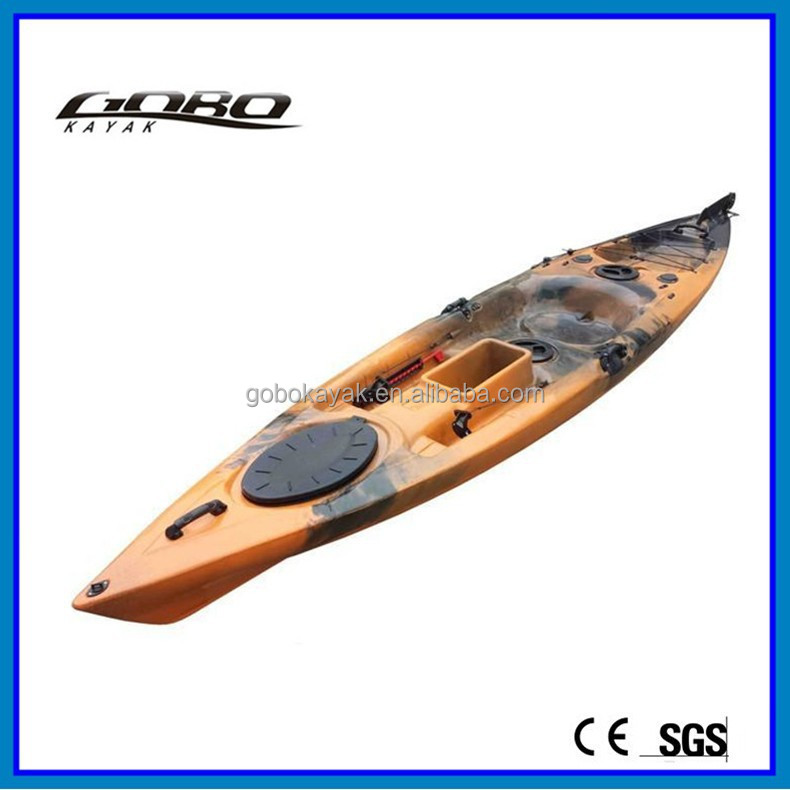Fishing Kayak With Rudder And Pedals Single Sit On Top