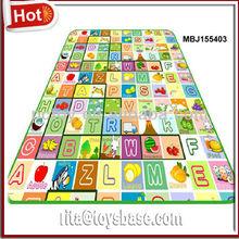 Educational floor mat for babies