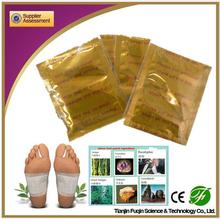 del pie del detox parche fuqin caliente de la venta para la desintoxicación del cuerpo entero