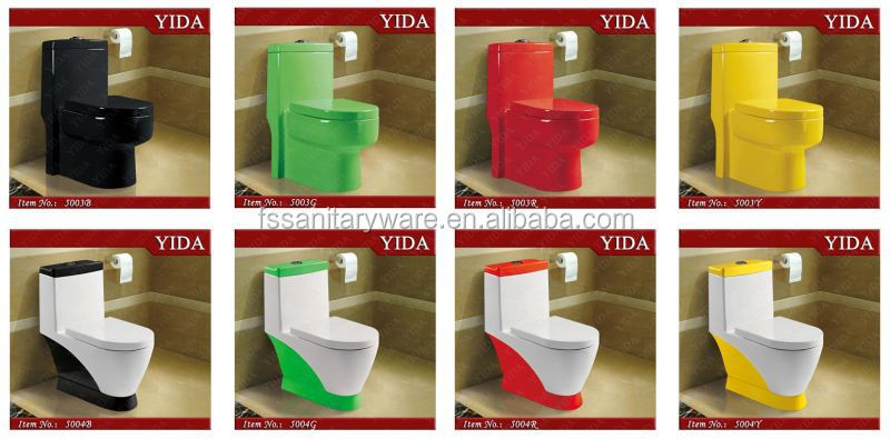 New design color toilet wc bathroom color toilets sensor china toilet wc auto flush buy sensor - Wc c olour grijze ...