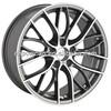 BK796 alloy wheel