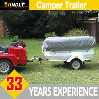 Light Duty Aluminum Folding OEM Camper Trailer