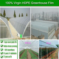 high tensile strength very durable uv resistant agricultural protective plastic film