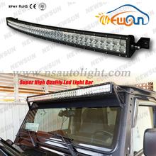 288watt 50 inch led light bar! double row 4*4 led bar, 24v 50'' 288w offroad led lightbar for jeep truck
