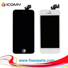 mobile phones display for iphone 5 lcd screen for iphone 5 touch screen assembly