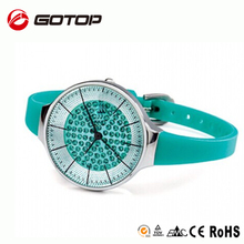 Factory direct stainless steel back case diamond fashion women trendy best high end watch brands