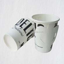 disposable paper cup with hander paper cup paper cheap price a lot of user