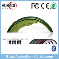 high quality custom logo folding wireless bluetooth mouse