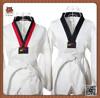 Hot sale martial arts wear 20 80 ribbed fabric WTF Taekwondo Uniform