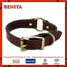 2015 China factory supply fine copper fitting leather collar