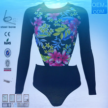 2015 latest wholesale black and white Lily follower swim suits for mature women