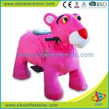 GM5943 SiBo kids electric motorcycle plush riding toys motorized animals