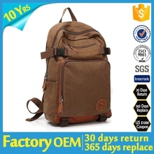 china factory supplier 2015 army canvas backpack