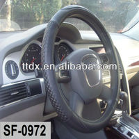 3K Twill Weaven carbon fibre material Steering Wheel Cover From factory