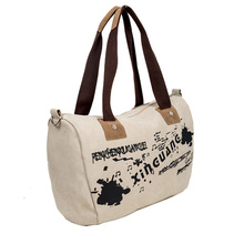 plain recycle pet canvas tote bag China supplier