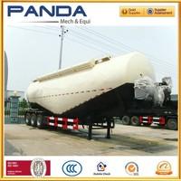 2015 Hot sale self unloading grain bulk carriers cement trailer