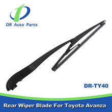 TY40 Car Body Kit For Toyota Avanza Accessories rear wiper arm and blade