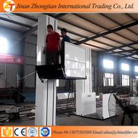jinan zhongtian handicapped man lifting equipment, wheelchair floor lift