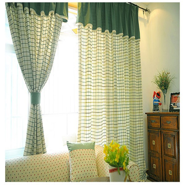 110 quot width woven linen mixed curtain fabric fancy yarn dyed curtain