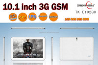 "New arrival 10.1"" inch display 1024*600 3G dual-core 5000Ahm tablet 10 inch"