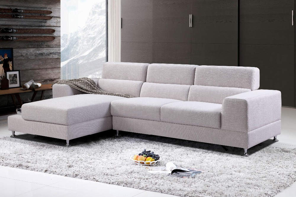Modern Fabric Corner Sofa Small Corner Sofa For Living Room Furniture Modern