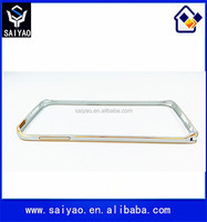 2015 Wholesale factory price metal mobile phone bumper frame case for Samsung Galaxy S6 Edge