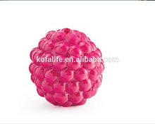 pet rubber toys for dogs pet toy treat ball with high quality