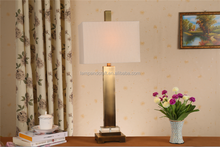 wholesale antique metal table lamp home decor for Australia also with power outlet for USA