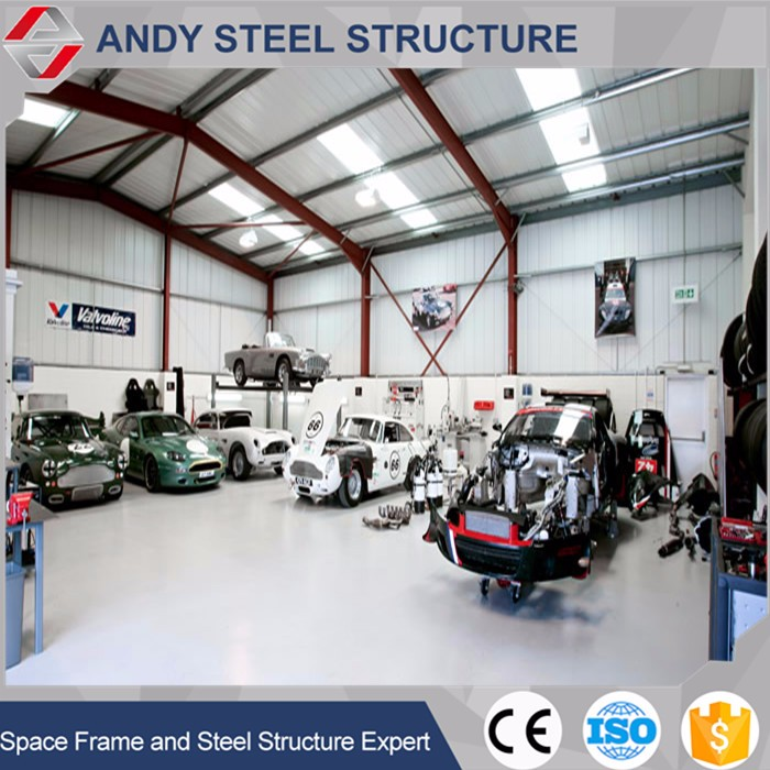 Design Auto Service Steel Structure Car Workshop Equipment - Buy ...