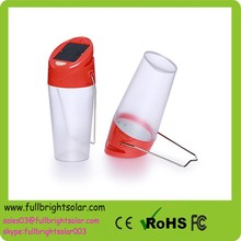 Portable fashionable solar lantern with mobile phone charger