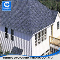 3-Tab Asphalt Roofing Shingle For Roofing Materials