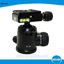 carbon fiber bicycle camera tripod mount with ball head for professional photograph