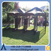 Iron dog kennel/Galvanized dog run cages/steel dog cages
